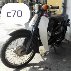 Honda c70 round lamp