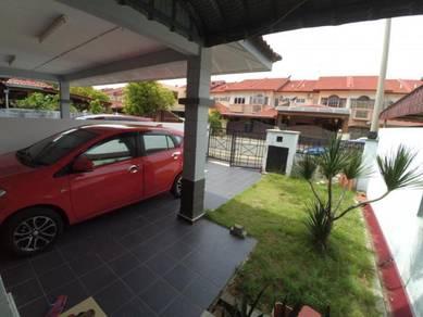 [BOOKING RM1K] Double Storey House Taman Bachang Utama Batu Berendam