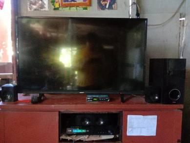 Tv Skyworth 40inch & Home theter LG