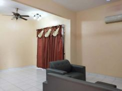 Lot 88 Full Furnished and Good Condition Double Storey Semi D for rent