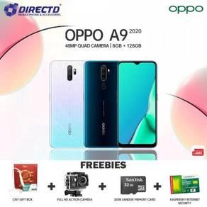 OPPO A9 (2020)8GB/128GB/5K BATT + PERCUMO 4 Hadioh