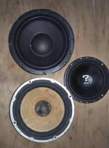 Speaker sony dan Adam's