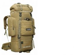 85L Local Lion Bag Hiking Camping Backpack Beg