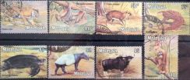 Malaysia Setem animals 1979 30c - $10 Complete