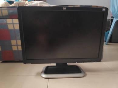 Monitor 19 inch jenama HP