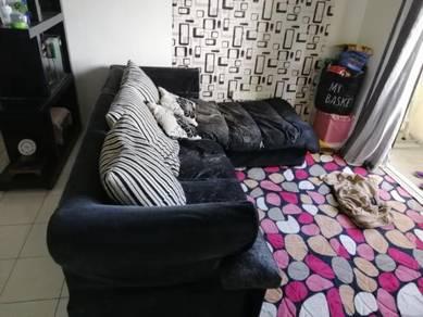 Sofa L shape saiz 8'
