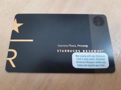 Starbucks Malaysia Reserve Gurney Plaza Card