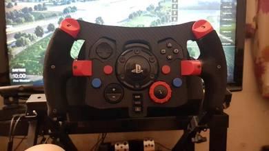 Logitech g29 f1 steering wheel mod