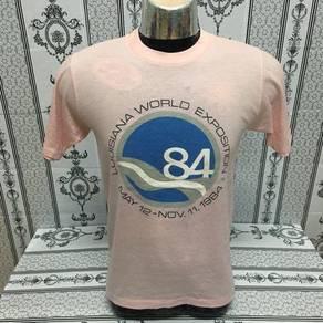 Tshirt Louisiana world exposition 1984 vintage