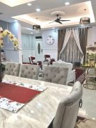 Spacious double storey fully furnished for sale