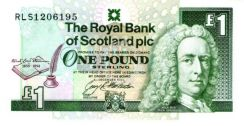 The Royal Bank of Scotland Commemorative Note UNC