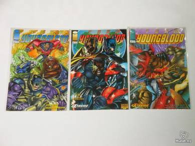 TEAM YOUNGBLOOD issue 1-3 complete set
