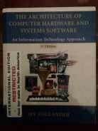 The Architecture of Computer Hardware and System S