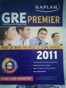 GRE Premier (Kaplan, 2010) with CD