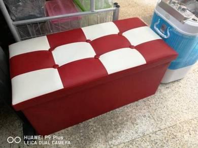 Checker Seater Storage box
