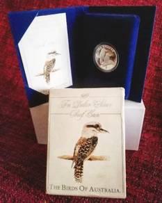 Kookaburra 1989 The 10 Silver (Proof Coin)