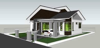 Banglo moden murah Kota Bharu