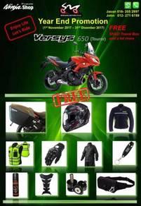 Kawasaki Versys 650 - Year End Promotion