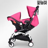 PINK Baby Throne UPGRADED Stroller + Carrier