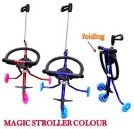 Magic stroller colour MERAH SAHAJA (no basket) 899