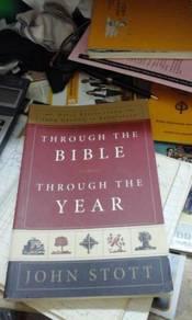 Through the bible , through the year