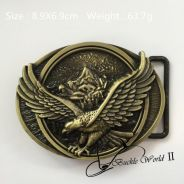 3D Eagle belt buckle