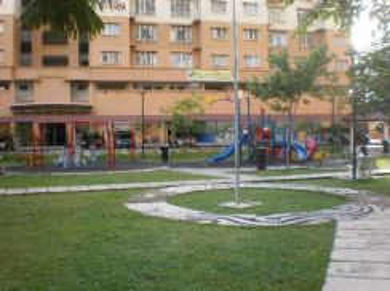 Merdeka Villa Apartment Ampang Selangor 930sf 3Rooms SEMI FURNISHED