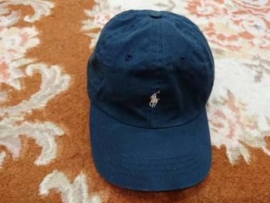 Polo ralph lauren small pony caps dark blue