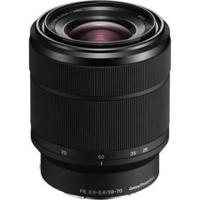 Brand new sony fe 28-70mm f3.5-5.6 oss lens