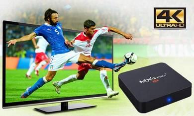 (4KHD) Smart Mx Android 7.1 Latest Tv Box decoder