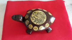 Antiques Chinese Wooden Turtles