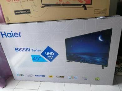 NEW TV HAIER 4K UHD LED 49inch 2018