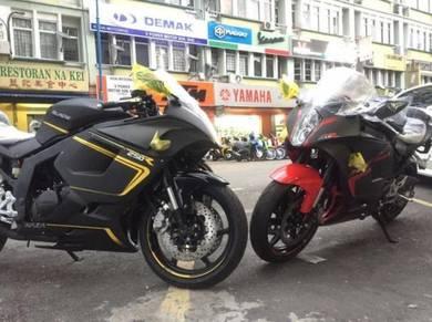 Naza Blade 250R EFI FREE TBR Exhaust