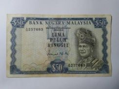 LIMA PULUH RINGGIT 2nd. Series Ismail Mohd. Ali