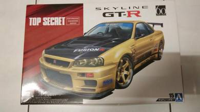 Top secret skyline gtr34