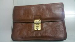 Clutch bag bally full leather