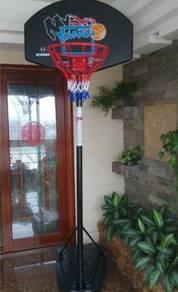 Height Adjustable Outdoor Portable Basketball Hoop