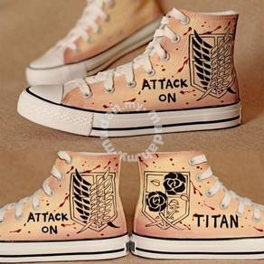 Anime shoes- attack on Titan