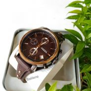 JAM FOSSIL Original Boyfriend Chronograph Brown Di