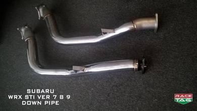 Subaru version 7,8,9,10 downpipe exhaust
