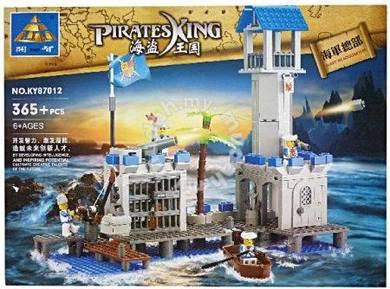Bricks - Kazi 87012 Navy Headquarters Pirate