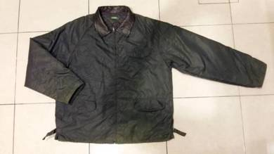 Jaket green army united color of bennetton