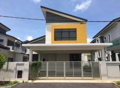Freehold Below Bank Value Double Storey Bungalow One Krubong
