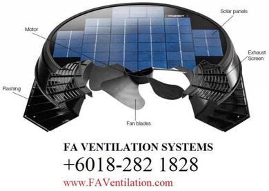 YTG14R FA Solar Powered Roof Ventilator GERMANY