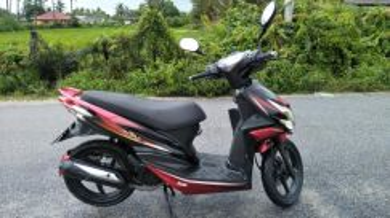 Motosikal Sym Jet Power 125cc untuk dijua