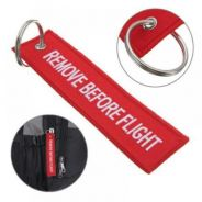 Remove Before Flight Tag/Keychain