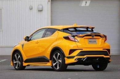 Toyota chr c-hr C-HR modellista bodykit paint pp 1
