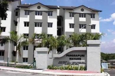 Mayang Apartment Puncak Jalil 800sqft Good Condition Semi Furnished