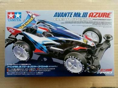 Tamiya Mini 4wd Avante Mk.lll Azure