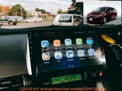 COGOO 10.1 Inch Android Player for TOYOTA WISH